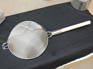 Double Mesh Reinforced Strainer